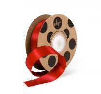 SATIN 22MM RED